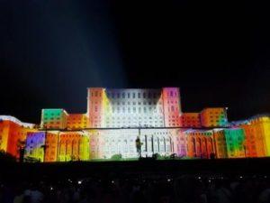 lumini casa poporului